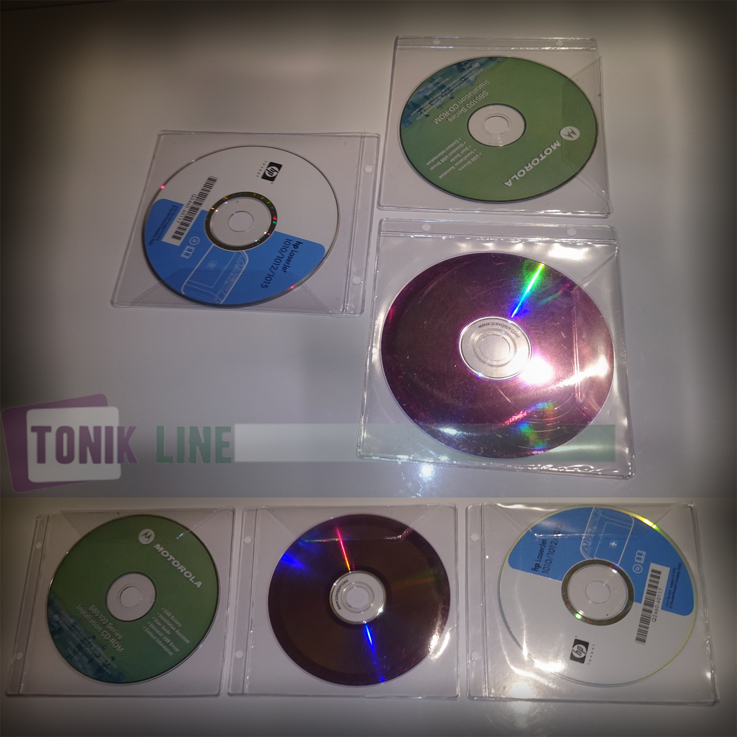 PVC folije za CD/DVD